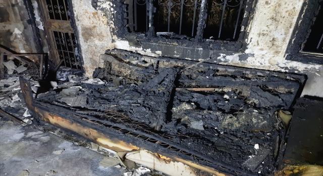 Mersin'de düğün hazırlığı yapan genç kızın çeyizi çıkan yangında kül oldu