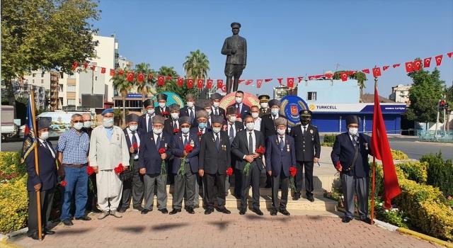 Mersin'in Tarsus, Gülnar ve Anamur ilçelerinde 9 Eylül Gaziler Günü törenlerle kutlandı