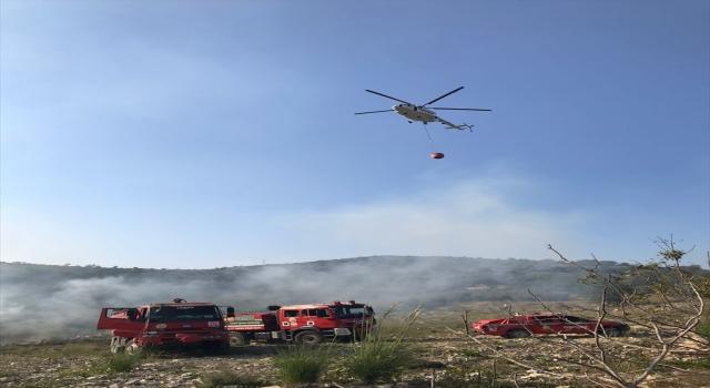 Osmaniye'de çıkan orman yangını söndürüldü