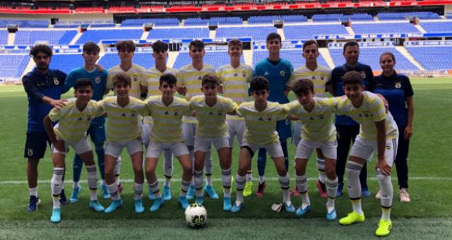 Fenerbahçe U15 Takımı Madewis Cup'ta Üçüncü Oldu