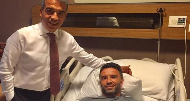 Beşiktaşlı Gökhan Gönül Ameliyat Oldu