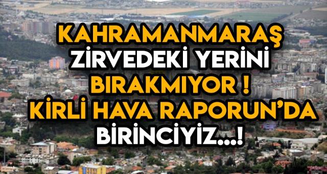 Kahramanmaraş'la ilgili korkunç rapor!