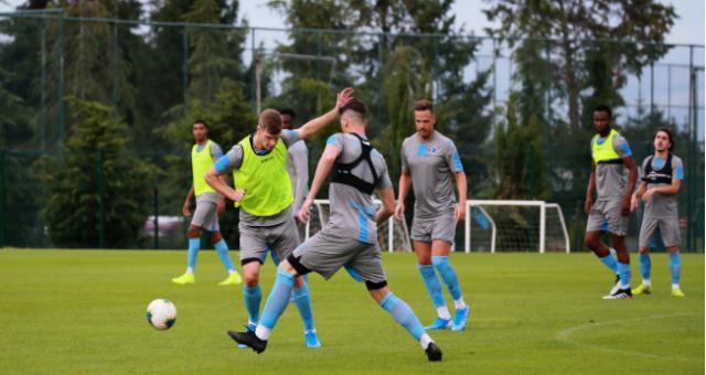 Trabzonspor'da Sparta Prag Maçı Hazırlıkları Sürüyor