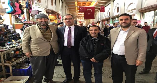 Başkan Güngör'den Esnaf Ziyareti