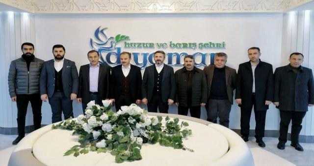 AK Parti Heyetinden, Başkan Kılınç'a Ziyaret