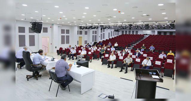 Başkan Kılınç, Birim Müdürleriyle İstişare Toplantısı Gerçekleştirdi