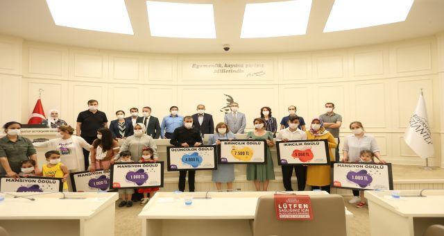 Gaziantepte Evde Kal Ödülleri Sahiplerini Buldu