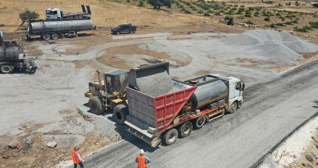 Gaziantep'te Yol Çalışmaları Devam Ediyor