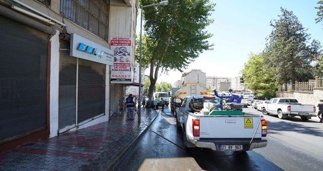 Kahramanmaraş Büyükşehir'den Kurban Bayramı Temizliği
