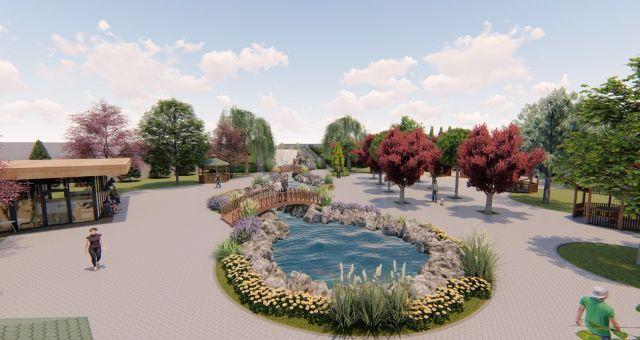 Kahramanmaraş'ta Park Yapımı Devam Ediyor