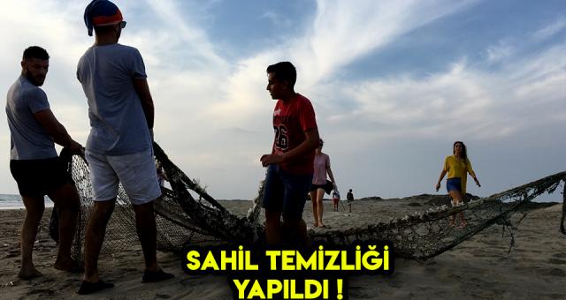 Adana Akyatan Lagünü'de Sahil Temizliği Yapıldı