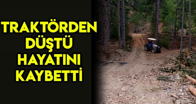 Adana'da Traktörden Düşen Kişi Hayatını Kaybetti