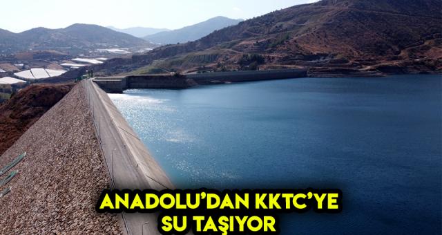 'Asrın' Projesi Anadoludan KKTC'ye Su Taşıyor