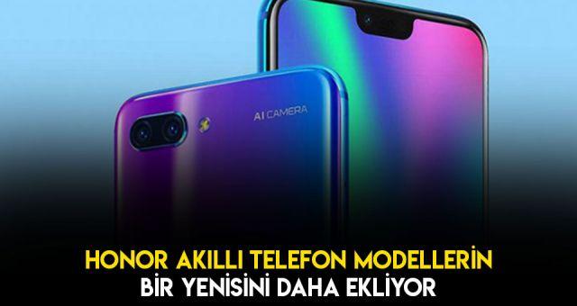 Honor Akıllı Telefon Modellerine Yeni Bir Model Daha Ekliyor