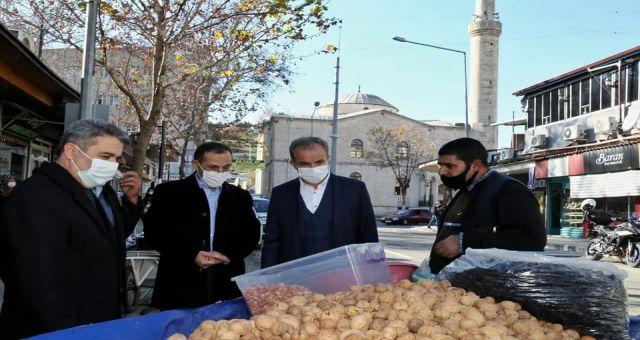 Başkan Kılınç AK Partili Yöneticilerle Esnafı Yerinde Ziyaret Etti