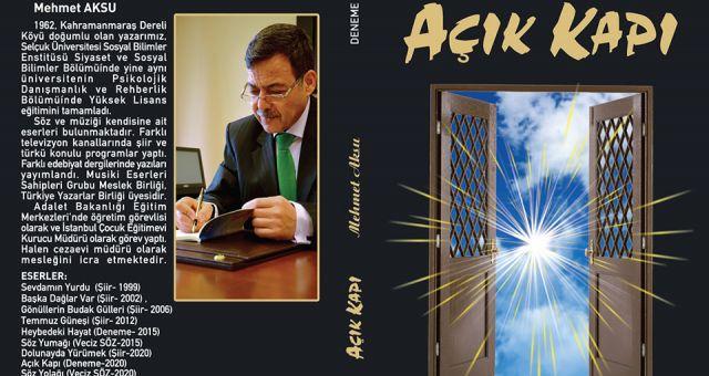 Şair Aksu'dan Okurlarına Müjde