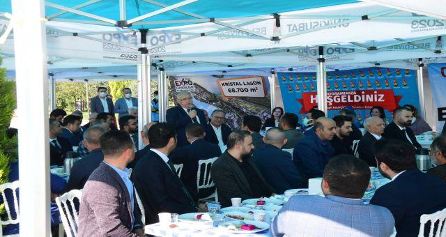 Başkan Mahçiçek Expo Alanında MHP Teşkilatıyla Buluştu