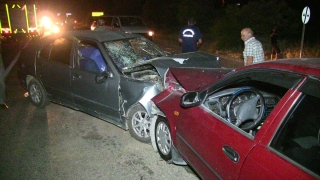 Kahramanmaraş'ta iki otomobil çarpıştı: 6 yaralı