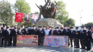 Antalya'da 19 Eylül Gaziler Günü törenle kutlandı