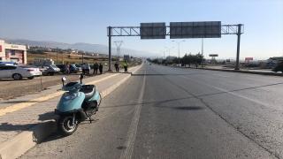 Kahramanmaraş'ta kaldırıma çarpan motosikletin sürücüsü hayatını kaybetti