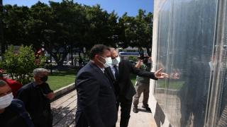 KKTC Başbakanı Ersan Saner, Hatay'da gazilerle buluştu