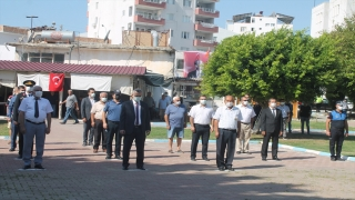 Adana, Mersin, Hatay ve Osmaniye'de 19 Eylül Gaziler Günü kutlandı