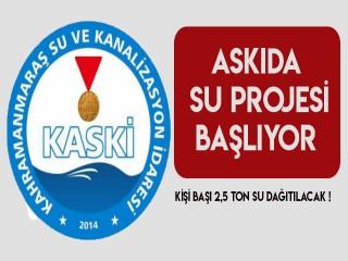 KASKİ İHTİYAÇ SAHİPLERİNE BEDAVA SU DAĞITACAK !