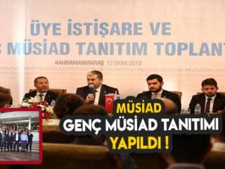 MÜSİAD Genç Müsiad lansman toplantısı yapıldı