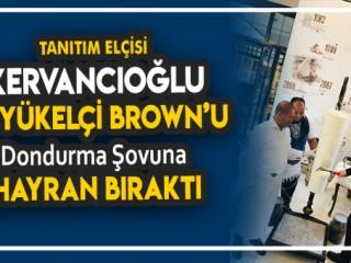 Sami Kervancıoğlu Avustralya büyükelçisini hayran bıraktı!