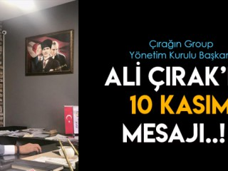 ÇIRAK'IN 10 KASIM MESAJI