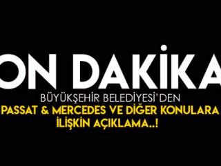 Kahramanmaraş Büyükşehir'den Son dakika açıklaması !