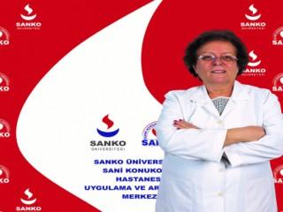 PROF. DR. YURDANUR KILINÇ SANKO ÜNİVERSİTESİ HASTANESİ'NDE