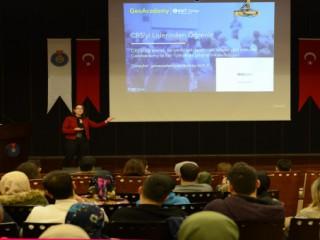 KSÜ'de, Coğrafi Bilgi Sistemi Semineri Verildi