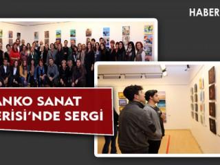 SANKO SANAT GALERİSİ'NDE SERGİ