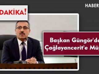 Son Dakika... Başkan Güngör'den Çağlayancerit'e Müjde!
