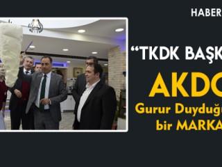 """TKDK Başkanı """"AKDO Gurur Duyduğumuz Bir Marka"""""""