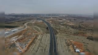 Gaziantep'te Şehir Hastanesi Yoluna Köprülü Kavşak