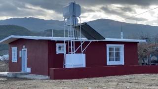 Fırtına Mağduru Aile'ye Yeni Ev Yapıldı