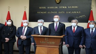 Adalet Bakanı Hatay'da Adliye ve Valiliğe Ziyaret Düzenledi