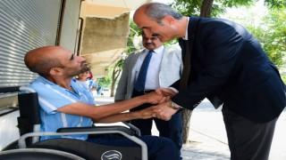 Dulkadiroğlu Belediyesi Engelli Ve Yaşlı Vatandaşların Çilesini Sona Erdirdi