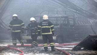 Sünger Fabrikasında Çıkan Yangın Kontrol Altına Alındı