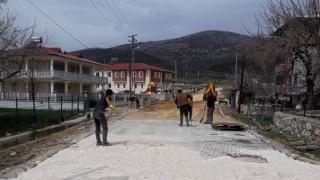 Kahramanmaraş'ta Parke Çalışmaları Sürüyor