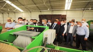 AK Parti İlçe Yönetimi Projeleri İnceledi