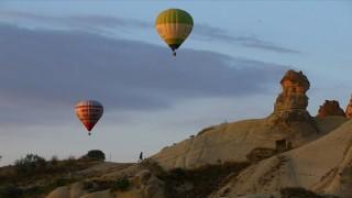 Kapadokya'da Turizm Hareketliliği Görülüyor