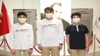 SANKO Öğrencileri Türkiye'yi Olimpiyatlarda Temsil Edecek