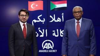 Sudan'ın Ankara Büyükelçisi'nden Anadolu Ajansa Ziyaret
